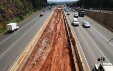 The Johannesburg Roads Agency is undertaking essential maintenance on the M1 freeway between Killarney and Crown Interchange.  Picture: Christa Eybers/EWN