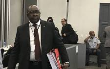 Finance Minister Nhlanhla Nene arrives at the Zondo Commission of Inquiry into state capture on 3 October 2018. Picture: EWN