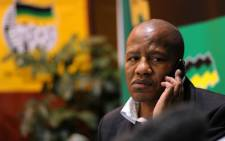 FILE: ANC spokesman Jackson Mthembu during a news conference in Johannesburg on Monday, 25 June 2012 ahead of the party's policy conference this week. About 3500 delegates were expected to attend the conference in Midrand. Picture: Werner Beukes/SAPA