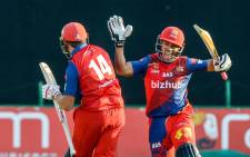 Bizhub Highveld Lions celebrate a victory. Picture: @HighveldLions/Twitter