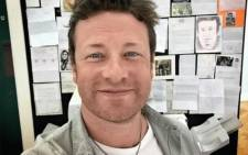 British celebrity chef Jamie Oliver. Picture: instagram.com