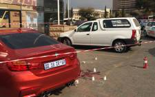Adam Balim was shot and wounded in a parking lot near the Sandton Gautrain Station. Picture: Emily Corke/EWN.