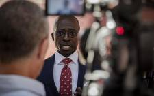 Home Affairs Minister Malusi Gigaba at the Lindela Holding Facility in Krugersdorp on 5 November 2018. Picture Sethembiso Zulu/EWN