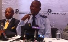 Gauteng Commissioner Mzwandile Petros. Picture: Taurai Maduna/Eyewitness News