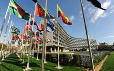 Flags fly at the United Nations Educational Scientific and Cultural Organisation (Unesco) headquarters in Paris. Picture: unesco.org