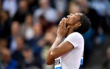"Caster Semenya competes to win the women's 800 metres during the IAAF Diamond League ""Weltklasse"" athletics meeting at the Letzigrund stadium in Zurich on 30 August 2018. Picture: AFP."