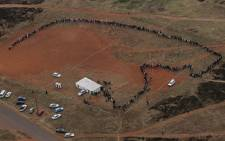 Some people who voted on 22 April 2009 said the last time they saw snaking queues such as this one was during the 1994 elections. PIcture: Taurai Maduna/Eyewitness News