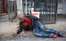 FILE: A photographer captured the last moments of Josias' life on camera in photos that went viral. Picture: James Oatway/Sunday Times.