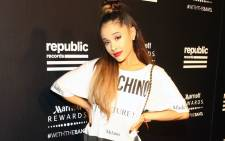FILE: Singer Ariana Grande. Picture: Getty Images North America/AFP.