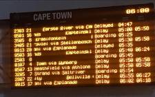 FILE: Cape Town train station. Picture: Shamiela Fisher/EWN.