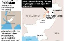 At least 132 students and 9 staff members were killed on Tuesday when Taliban gunmen broke into a school in the Pakistani city of Peshawar.