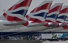 FILE: British Airways aircraft. Picture: AFP