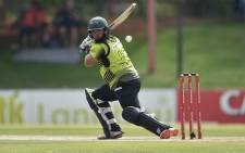 Warriors batsman Gihanh Cloete scored 56 in the semi final against the Titans. Picture: Twitter/@OfficialCSA