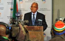 President Jacob Zuma. Picture: EWN.