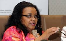 FILE: Environmental Affairs Minister Edna Molewa. Picture: GCIS