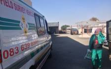 Staff at a scrap metal company in Boksburg were evacuated after radioactive material was found in one of its workshops on 16 May 2013. Picture: Govan Whittles/EWN