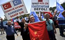 Turkey's anti-Chinese protests escalated on 5 July 2015. The protests are against the treatment of Uighur Muslims who are the Chinese have banned from praying & fasting during Ramadan. Picture: AFP