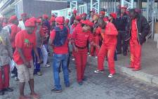 FILE: The EFF has gone to court to challenge disciplinary charges against 20 of its MPs. Picture: Thando Kubheka/EWN.