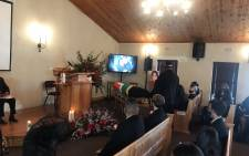 A special provincial funeral was held, for late actor Shaleen Surtie-Richarcs at the Durbanville Memorial Park on Sunday, 13 June 2021. Picture: Eyewitness News/Lizell Persens