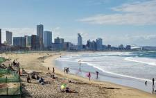 Durban beach. Picture: Facebook.com