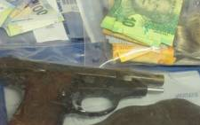 Items recovered from an armed robbery at a Spur restaurant in Brackenfell. Picture: Twitter/@SAPoliceService.