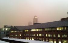 Johannesburg sandstorm. Picture: Ryan Wynn.