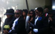 Members of the Shiceka family during his funeral service on 12 May 2012.  Sicelo Shiceka died from a long illness in April. Picture: Phakamile Hlubi/EWN