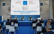 Policy-makers and key international experts are gathering in Venice for the #G20 High-Level Tax Symposium to debate on how tax policy can contribute to addressing climate change and environmental challenges. Picture: Twitter/g20org