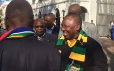 ANC deputy President Cyril Ramaphosa. Picture: Kevin Brandt/EWN
