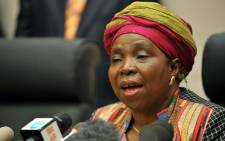 Dr Nkosazana Dlamini-Zuma incoming Chairperson of the AUC during a press conference. Picture: Jacoline Prinsloo/GCIS