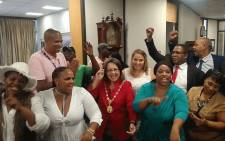 Patricia de Lille retained her position as Cape Town mayor after a failed motion of no confidence vote, on 15 February 2018. Picture: @PatriciaDeLille