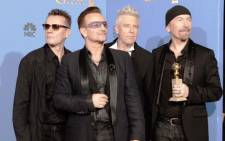 U2's controversial free album on Apple's iTunes had a less than stellar performance once released for commercial sale, coming in at No. 9 in its first week on the Billboard 200 album chart. Picture: AFP.