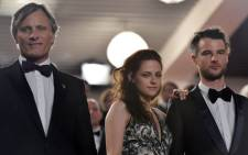 "US actor Viggo Mortensen, US actress Kristen Stewart and British actor Tom Sturridge arrive for the screening of ""On the Road"" presented in competition at the 65th Cannes film festival on May 23, 2012 in Cannes. Picture: AFP"