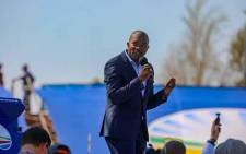 FILE: DA leader Mmusi Maimane at Dobsonville Stadium on 4 May 2019 for the party's final election rally. Picture: Kayleen Morgan /EWN