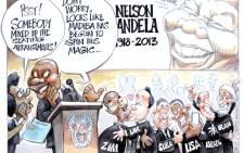 Madiba spins his magic at FNB Stadium
