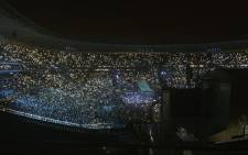 A wide view of the Global Citizen festival at FNB Stadium on 2 December 2018. Picture: @GlblCtzn/Twitter