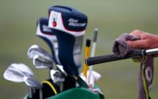 Golf clubs. Picture: AFP