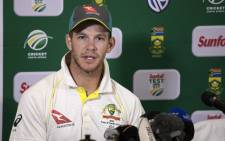 FILE: Australian captain Tim Paine. Picture: AFP.