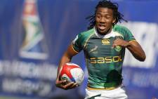 Cecil Afrika will miss the Blitzbokke's attempt to defend their Glasgow Sevens title. Picture: Facebook.