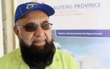 Gauteng MEC for Roads and Transport, Ismail Vadi. Picture: EWN