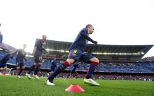 Barcelona midfielder Andres Iniesta. Picture: Barcelona Official Facebook page.