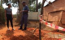 Two men from Lawley informal settlement in Lenasia were beaten to death for allegedly being behind numerous housebreakings in the area. Picture: Vumani Mkhize/EWN.