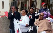 FILE: The Right2Know Campaign protests against the controversial Protection of State Information Bill. Picture: EWN.