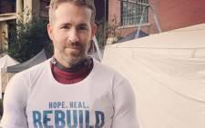 Actor Ryan Reynolds. Picture: Instagram.
