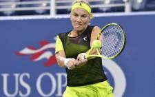 Russian tennis player Svetlana Kuznetsova. Picture: AFP
