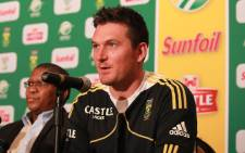 Proteas skipper Graeme Smith is preparing to lead his side into battle against the Australians. Picture: Sebabatso Mosamo/EWN