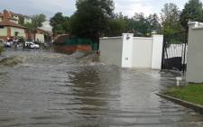 Major roads around Johannesburg have been closed following heavy rain. Picture: Angelo Tyler/iWitness.