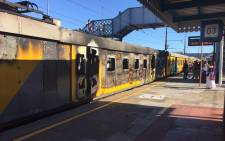 FILE: Metrorail says it will cost millions of rands to repair the damage caused by vandals. Picture: Natalie Malgas/EWN.