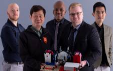 The engineering team from the University of Johannesburg which has developed mechanical ventilators that can provide oxygen to multiple patients. Picture: Supplied