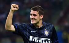 FILE: Inter Milan's Croatian midfielder Mateo Kovacic. Picture: AFP.